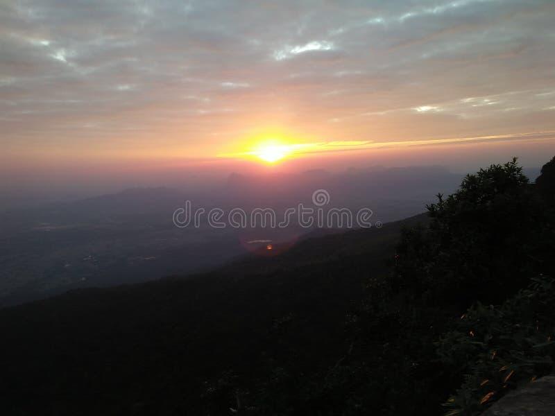 Sunrises sun sky begin start royalty free stock photos