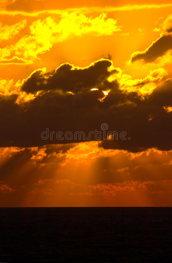 Sunrises and Sunset royalty free stock image