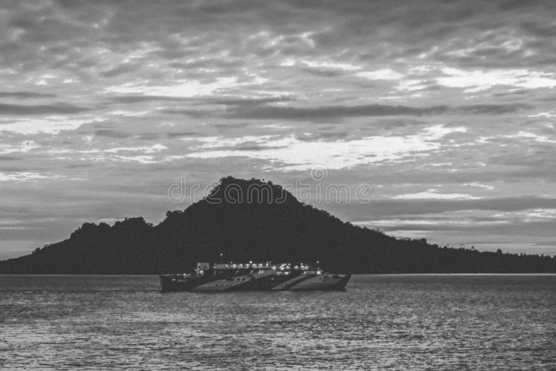 Sunrist in anyar Indonesië stock fotografie