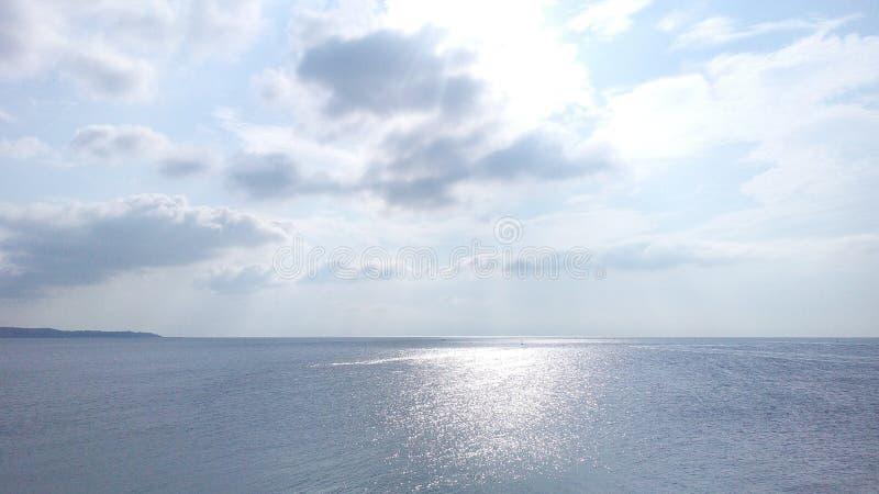 Sunrize in Varna royalty free stock photography
