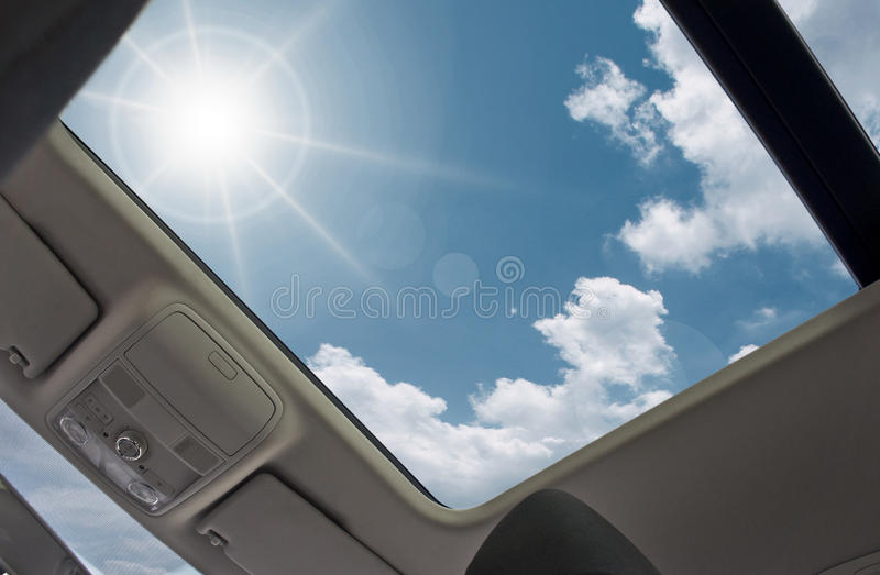 sunroof στοκ φωτογραφία