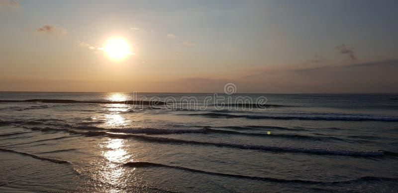 Sunset& x27 φωτοστέφανος του s στοκ φωτογραφίες