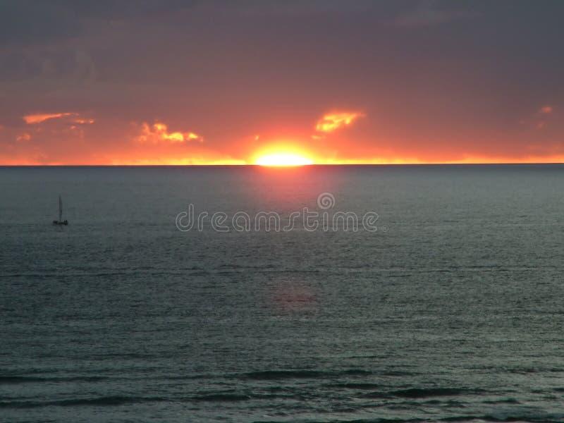 Sunset 1 stock photography