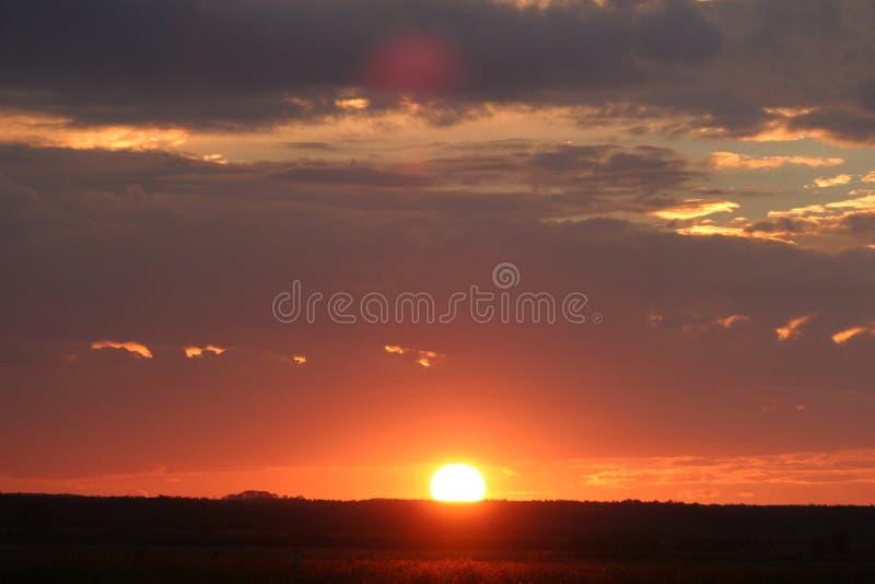 Download Sunset stock image. Image of landscape, nature, fire - 10951145