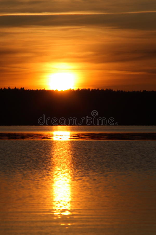 Download Sunset stock photo. Image of rural, clear, inimitable - 12004820