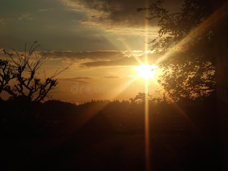 SunSet стоковые фотографии rf