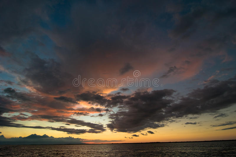 Download Sunset stock photo. Image of sunlight, clouds, nature - 16440054