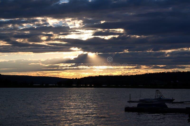 Sunset Free Stock Photography