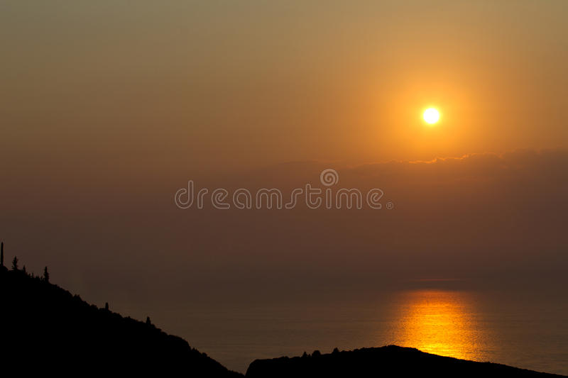 Download Sunset stock photo. Image of dusk, greek, sunset, clouds - 21038462