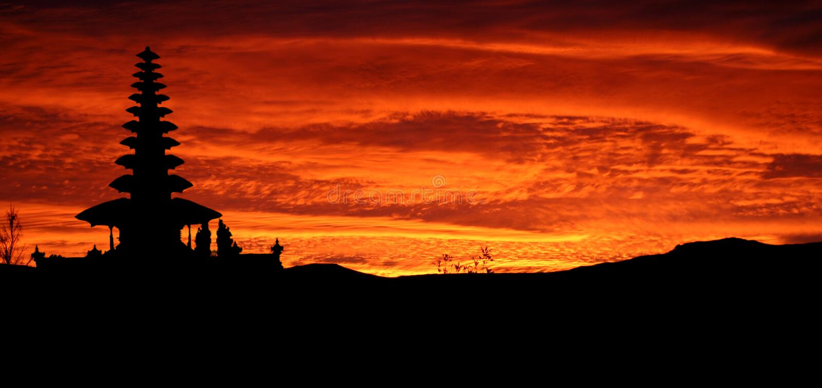 Download Sunset stock photo. Image of decline, redheaded, flame - 2237146