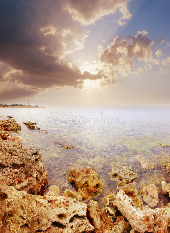 Download Sunset stock photo. Image of review, concrete, marine - 22866012