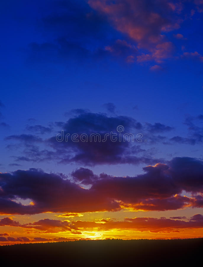 Download Sunset. stock photo. Image of beauty, orange, space, dusk - 23398104