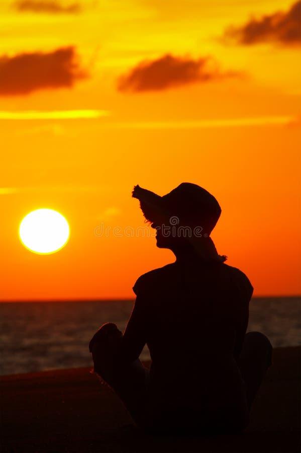 During sunset stock photos