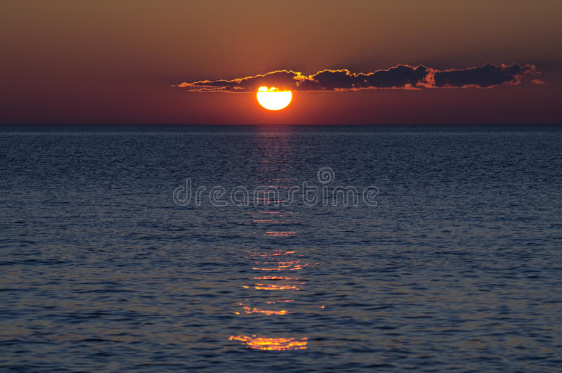 Download Sunset stock photo. Image of north, amazing, spectacular - 24868194