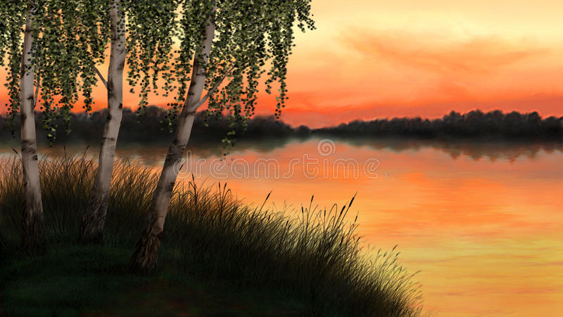 Download Sunset Stock Image - Image: 25387981