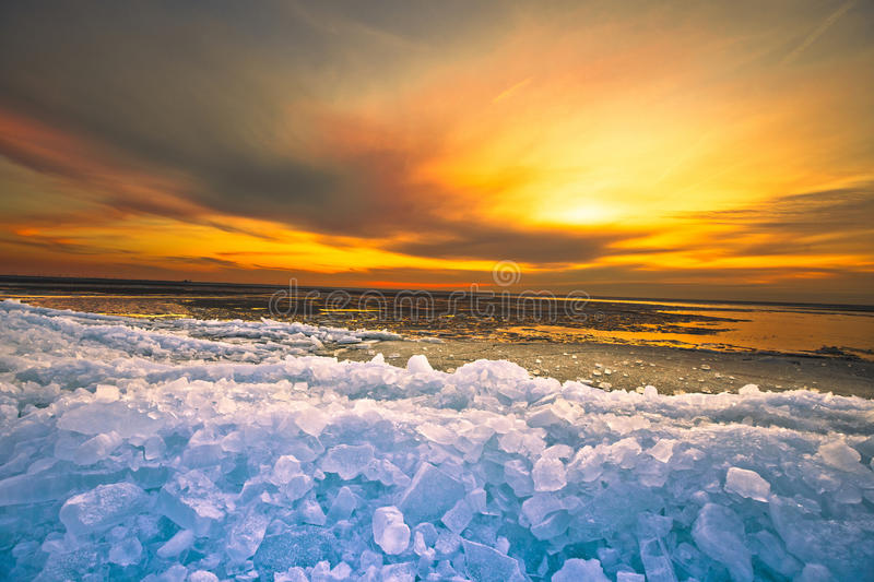 Download Sunset stock photo. Image of freeze, climate, download - 26415616