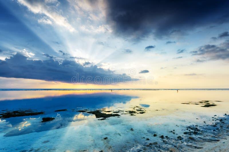 Download Sunset stock image. Image of season, dusk, dawn, gold - 26952831