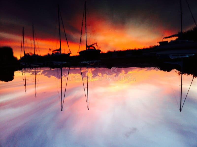 Sunset1 royalty-vrije stock fotografie