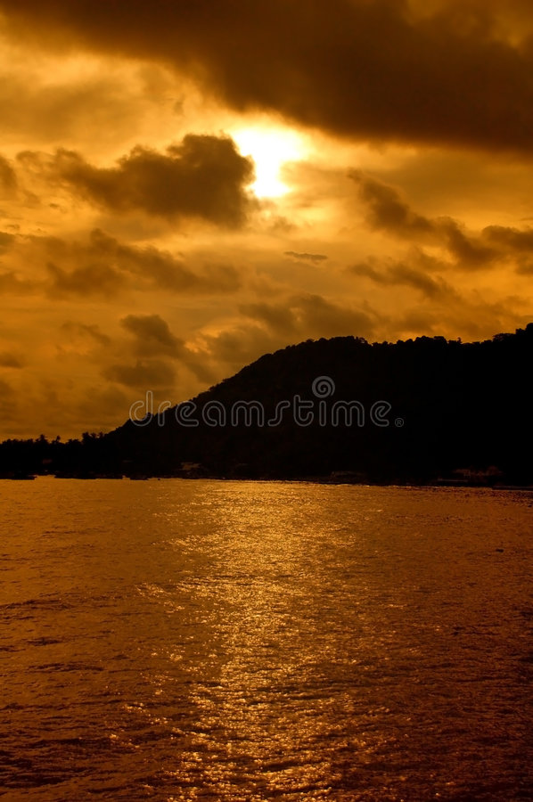 Download Sunset stock image. Image of particles, amazing, evening - 4604905