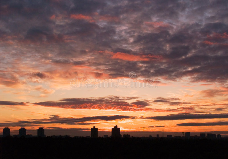 Sunset [5] royalty free stock photography