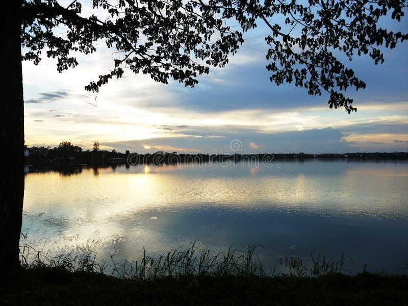 sunset036 免版税库存照片