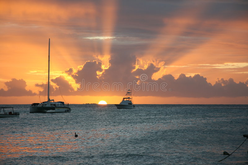 Download Sunset stock photo. Image of beach, beauty, remote, getaway - 6765086