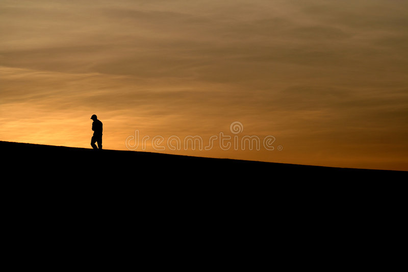 Download Into the Sunset stock photo. Image of harassed, horizon - 697320