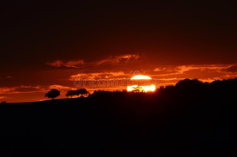 Sunset2 库存图片
