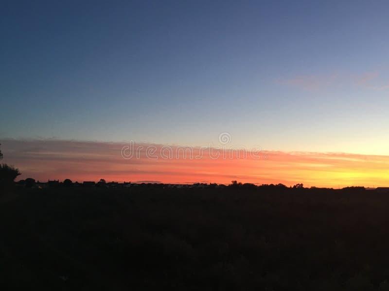 Sunset6 стоковое изображение rf