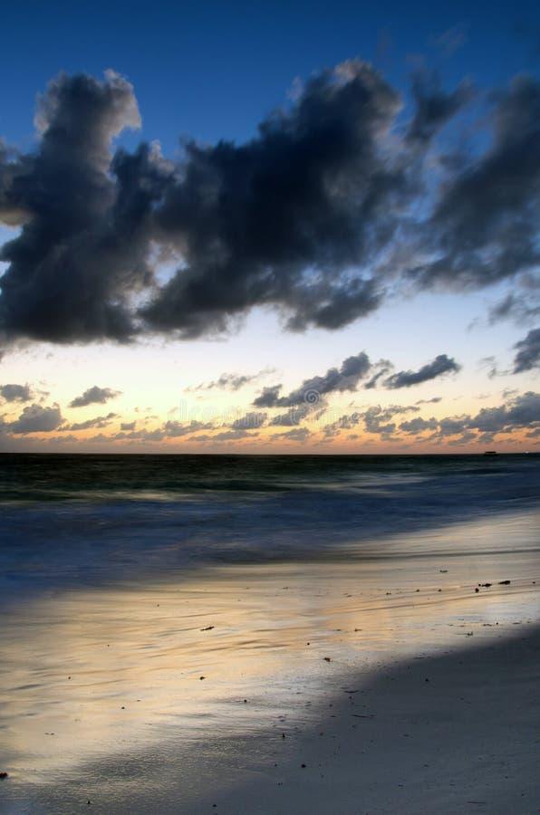 Sunset Above The Sea Stock Photos