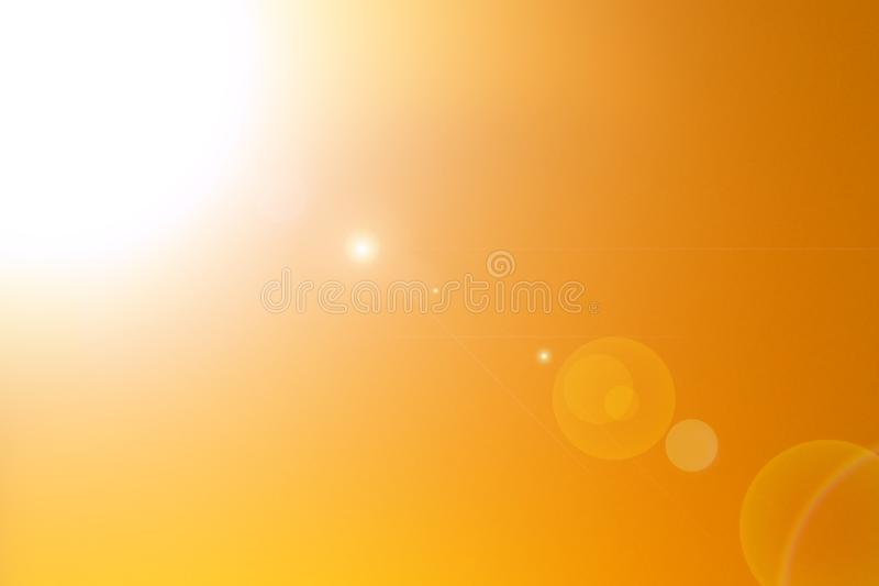 Sunset Abstract colorful blurred background. stock image