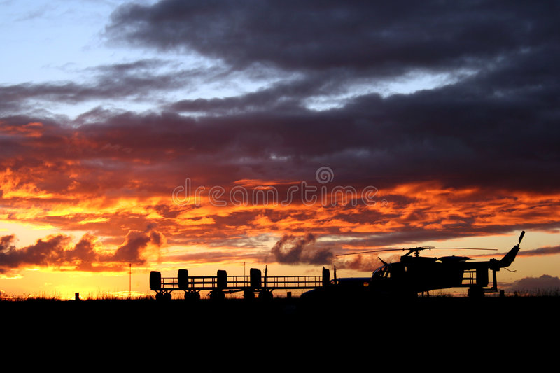 Download Sunset Air stock image. Image of navy, clouds, sunset, airforce - 381475