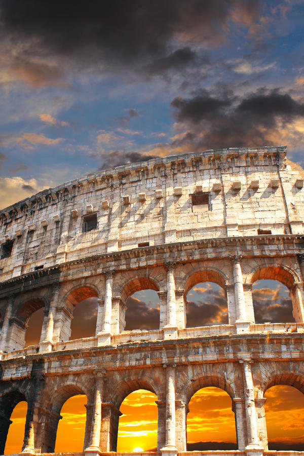 Coliseum, Rome Royalty Free Stock Photos