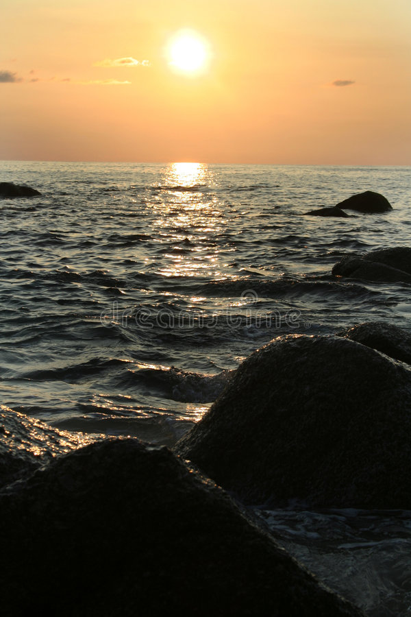 Download Sunset On The Andaman Coast Stock Image - Image: 1382981