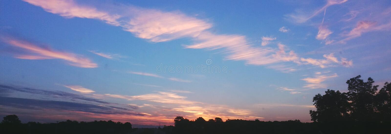 Sunset 2 stock photos