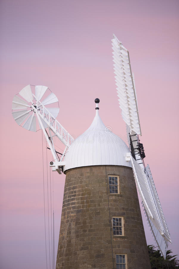Free Sunset At Historic Flour Mill At Oatlands Tasmania Royalty Free Stock Image - 47620286