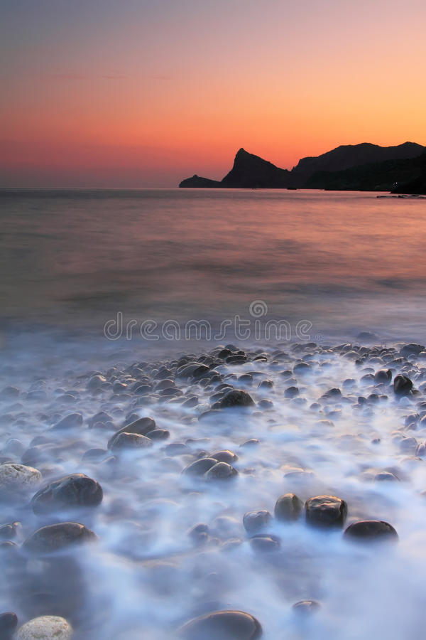 Free Sunset At The Sea Stock Photography - 22341802