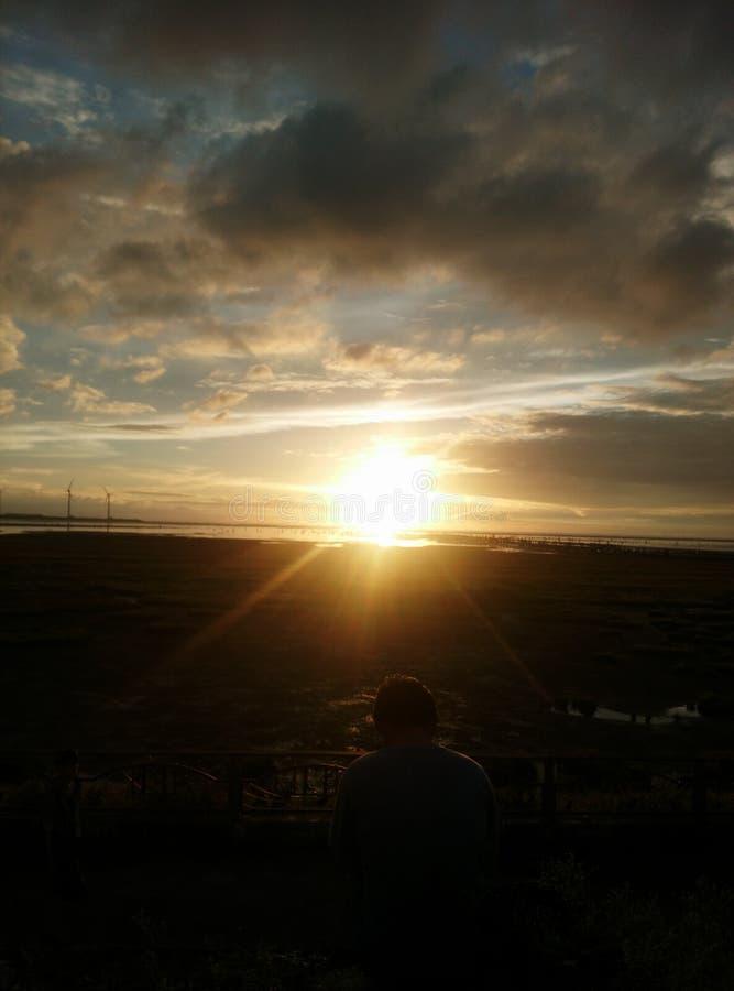 Free Sunset At Xiziwan Stock Images - 173916094