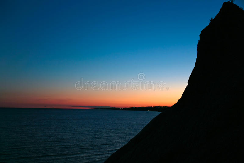 Download Sunset on Atlantic coast stock image. Image of atlantic - 18466533