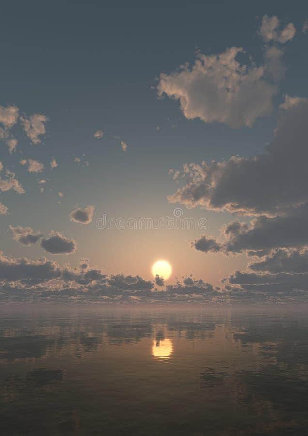 Sunset Background Vertical stock image