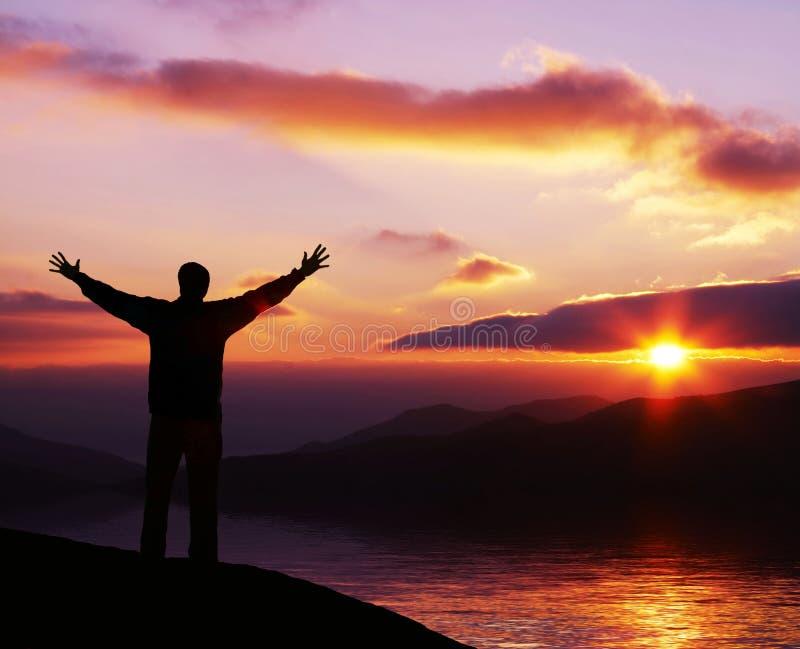Download Sunset background25 stock photo. Image of celebration - 3381592