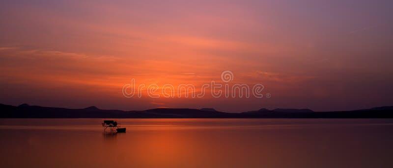 Sunset in Balaton