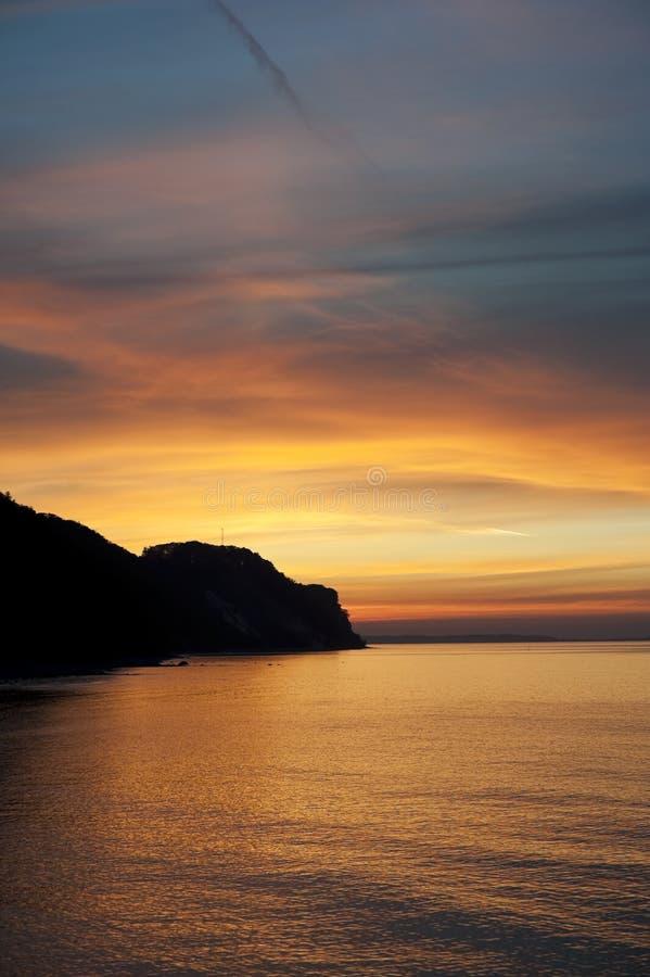 Download Sunset at Baltic Sea stock photo. Image of coastline - 14758424