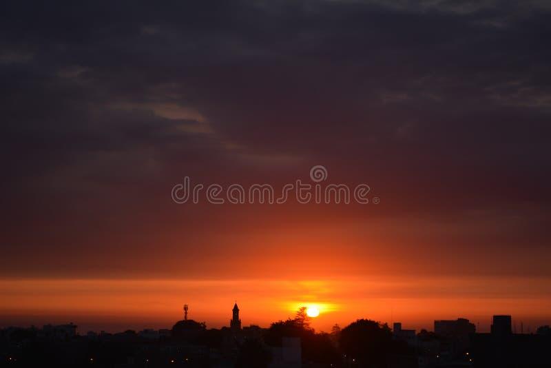 Sunset - barranco. Hermoso sunset de Lima peru de verano barranco colores bellos en un hermoso atardecer stock photos