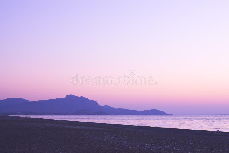 Download Sunset in the beach stock photo. Image of resort, beach - 14704360