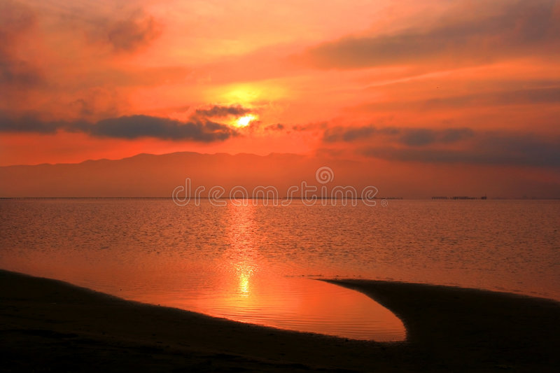 Download Sunset On The Beach Stock Images - Image: 2433314