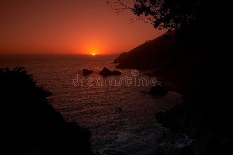 Download Sunset on the beach stock photo. Image of dusk, beaches - 679106