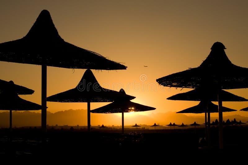 Download Sunset Beach On Sea Resort, Stock Photo - Image: 16367380