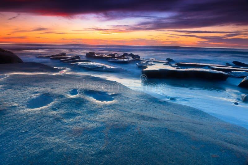 Download Sunset Beach stock image. Image of diego, seaside, seashore - 39788621