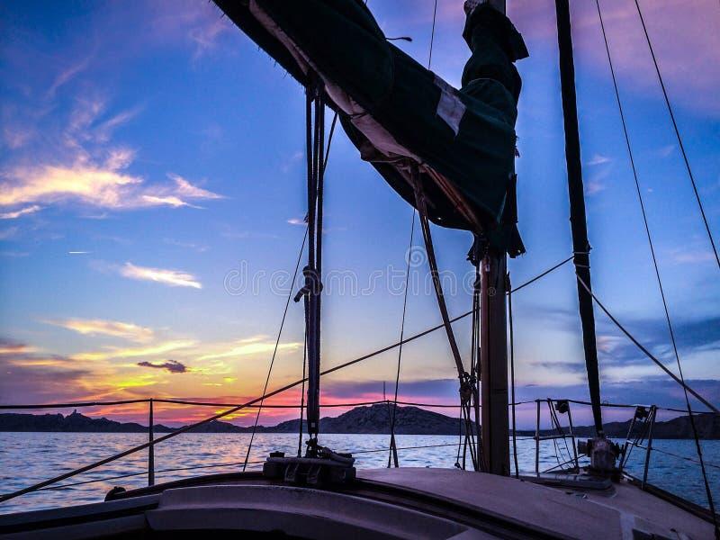 Sunset stock photo
